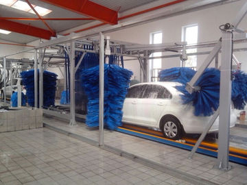 چین Tunnel Car Wash Systems With Three Color Wax Spraying , Innovation Mode تامین کننده