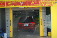 Noiseless Tunnel Car Wash System Brush With Automatic Air Drying System