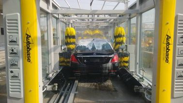 چین CE / ISO9001 Express Car Wash Tunnel With Tepo Auto Upgrade Technology کارخانه