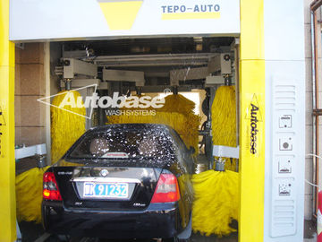 چین TEPO-AUTO TUNNEL CAR WASH with high speed washing 60-80 cars per hour کارخانه