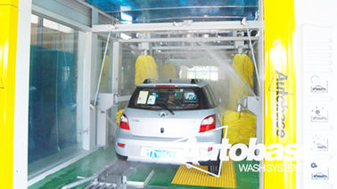 چین Automatic Tunnel  Car Wash Machine & security & comfort کارخانه